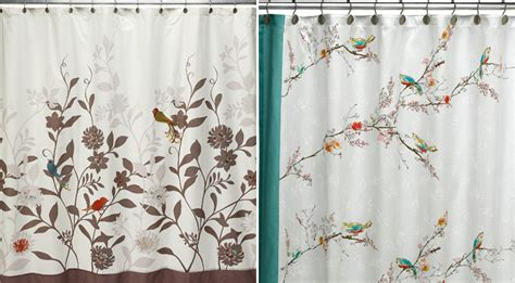 shower curtains with birds on them the long long swing september 2010
