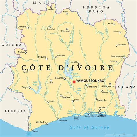 cote divoir cote ivoire photo voyages cartes