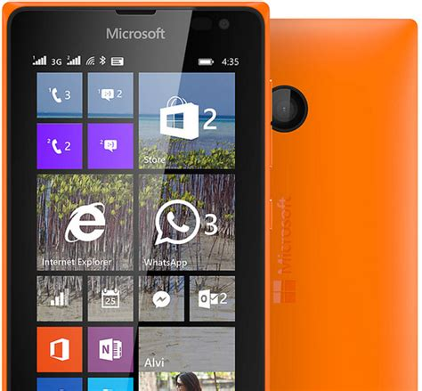 Hp Android Nokia Lumia 435 harga hp microsoft lumia 435 ponsel windows murah terbaru