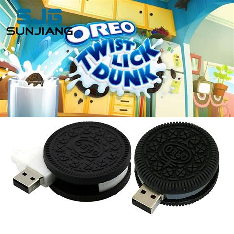 Flashdisk New Luck 8gb oreo gifts promotion shop for promotional oreo gifts on