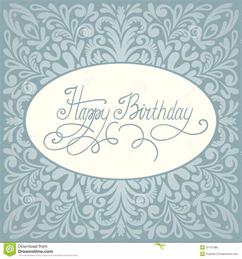 happy birthday card design vector illustration happy birthday greeting card design stock vector image