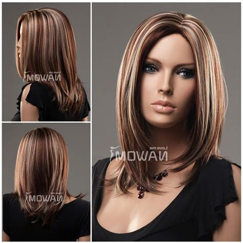 haircuts and hairstyles for medium hair shoulder length hairstyles with highlights high quality