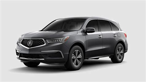 2018 acura mdx color options