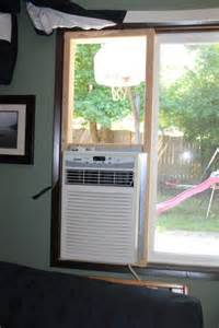 Window Unit For Sliding Windows Designs Installing A Window Air Conditioner Thriftyfun