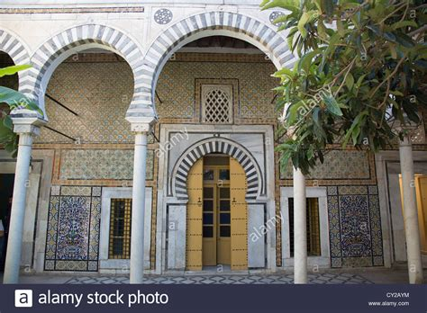 Ottoman Palaces Dar Othman Historic Ottoman Palace In The Tunis Medina Tunis Stock Photo Royalty Free Image