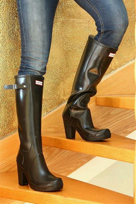 high heel rubber boots fulbrooke high heel wellies freya s world of high