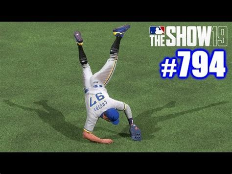 perfect throw home mlb  show  road   show  youtube