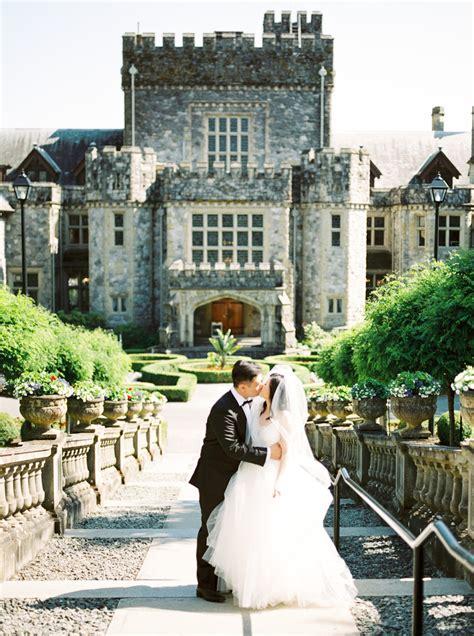 hatley castle wedding victoria bc ashley  kevin