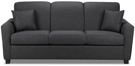 furniture couches sofas roxanne sofa charcoal leon s
