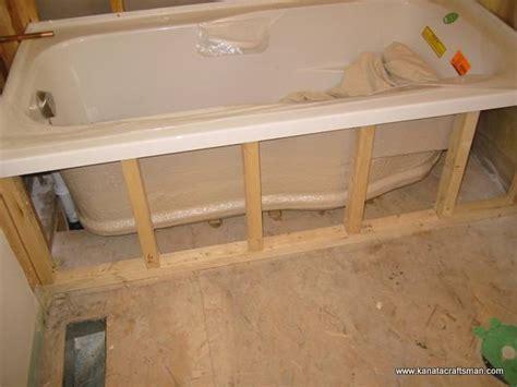 bathtub framing drop in bathtub framing bing images
