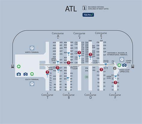 airport in atlanta map atlanta airport map if you transfer flights in atlanta