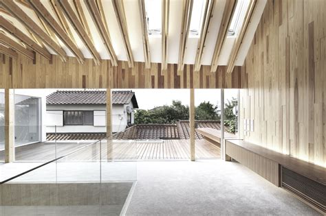 timber architecture timber architecture osaka dentistry evolo