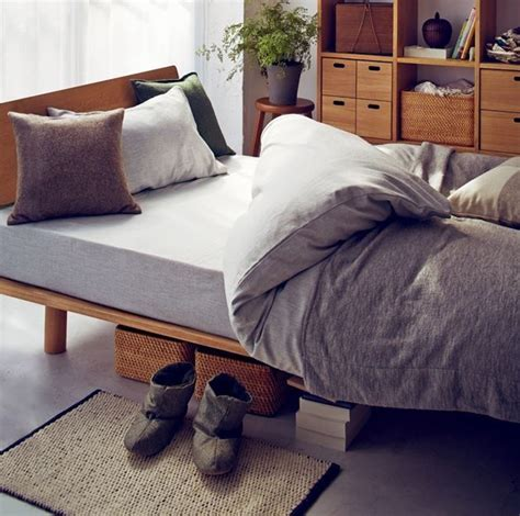 muji bedding 25 best muji bed ideas on pinterest low bed frame bed