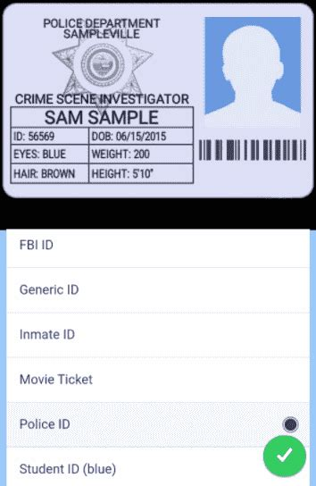 Nsa Id Card Template by How To Make A Fbi Id Card Fbi Id From The Xfiles