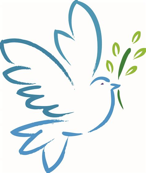 pin peace dove template on pinterest