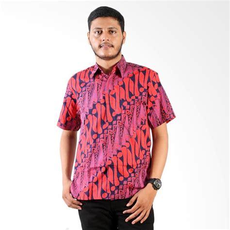 Kemeja Batik Ungu jual batik nulaba parang besar layar kemeja batik cap pria