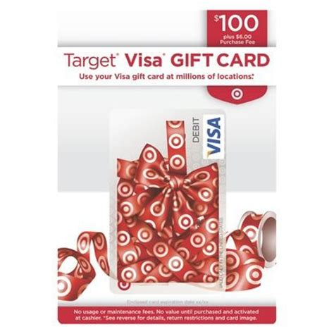 Fee For Visa Gift Card - visa gift card 100 6 fee