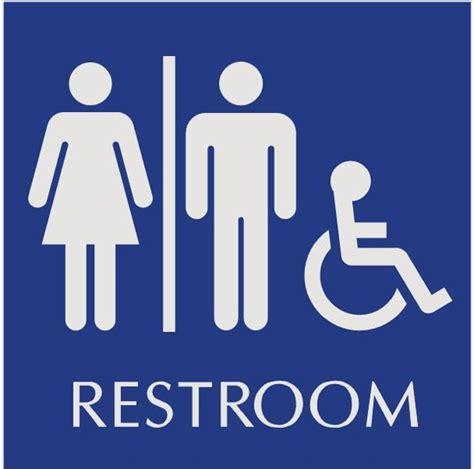 bathroom sign person single person restrooms a positive alternative