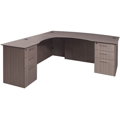 curved l shaped desk catalina laminate curved left return l shape desk drift