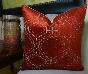 18 quot x 18 quot designer decorative pillow burgundy velvet