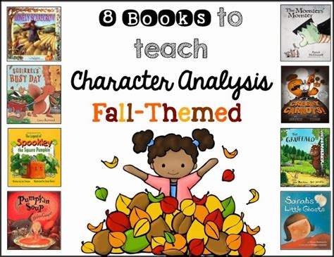 using picture books to teach character traits teaching character analysis using picture books primary