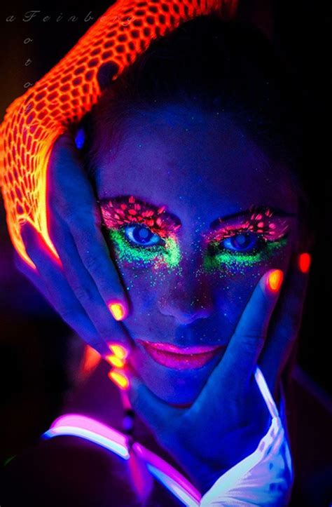 glow in the paint ideas 193 best uv black light neon paint images on