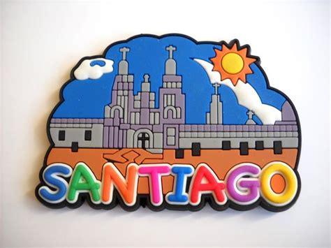 Souvenir Chilie Tempelan Magnet Santiago 3 1000 images about camino de santiago souvenirs on santiago camino de santiago and