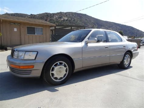 car manuals free online 1987 buick skyhawk electronic throttle control service manual 1993 lexus ls how to fill new transmission 1993 used lexus ls 400 at car guys