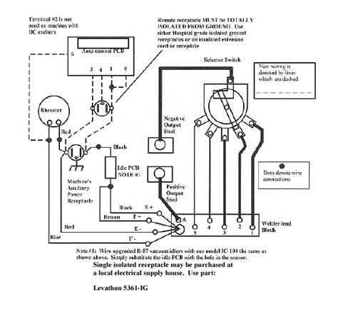 lincoln sa 200 remote diagram 29 wiring diagram images