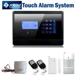aliexpress buy touch keypad wireless home alarm gsm