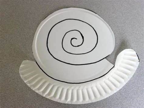 paper plate snail craft paper plate snail crafts activities for children