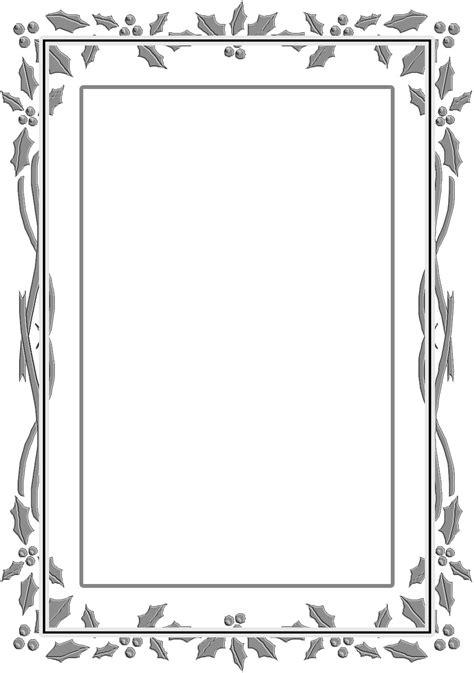 decorar hojas en word caratulas para trabajos marco de decorado de hojas gris