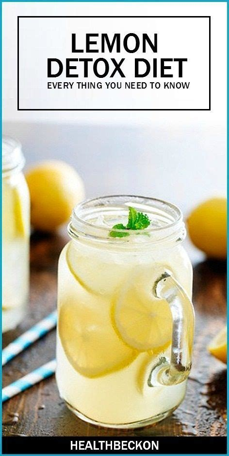 2 Day Lemon Detox by Best 25 Lemon Diet Detox Ideas On Master