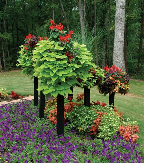 outdoor garden decor 42 quot border column kits contemporary outdoor decor