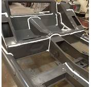 Seam Sealing Our Jensen 541S Chassis  Bridge Classic Cars