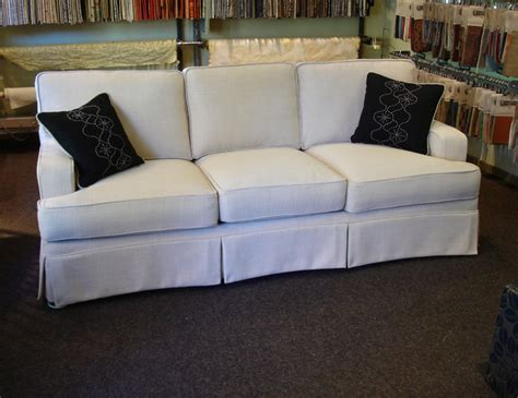 Contemporary Sofa Slipcover Slipcover Contemporary Sofas Portland By Acanthus