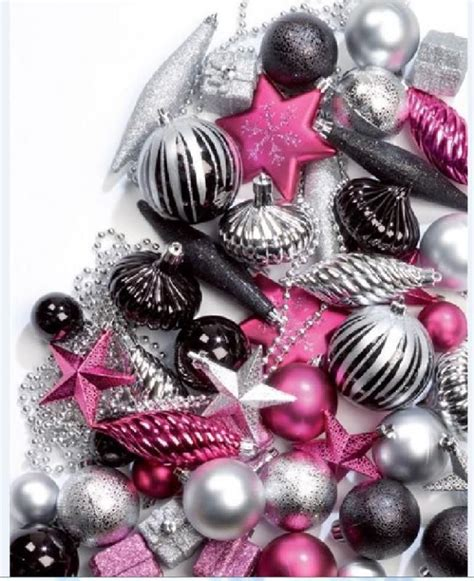 50 christmas tree decoration baubles ornaments festive