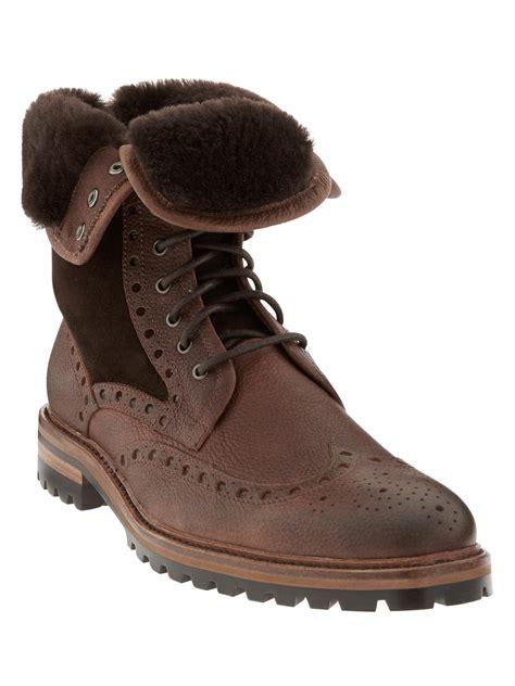 banana republic alfie boot in brown for lyst