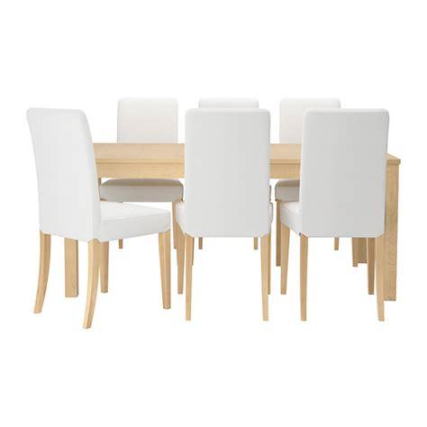 bjursta henriksdal table et 6 chaises ikea
