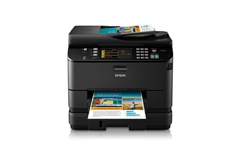 Printer Epson Laserjet Colour Epson Workforce Pro Wp 4540 Wireless All In One Laserjet Color Printer Black Ebay