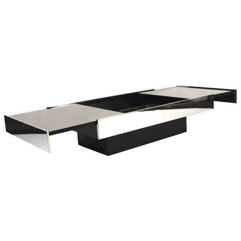 willy rizzo for cidue coffee table italy 1970s at 1stdibs