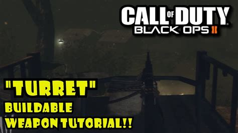 tutorial zombies black ops black ops 2 zombies tranzit gameplay quot turret quot buildable