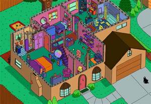 simpsons haus grundriss re 3 simpsons haus grundriss