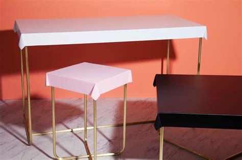 drape table brand new tables from debra folz design design milk