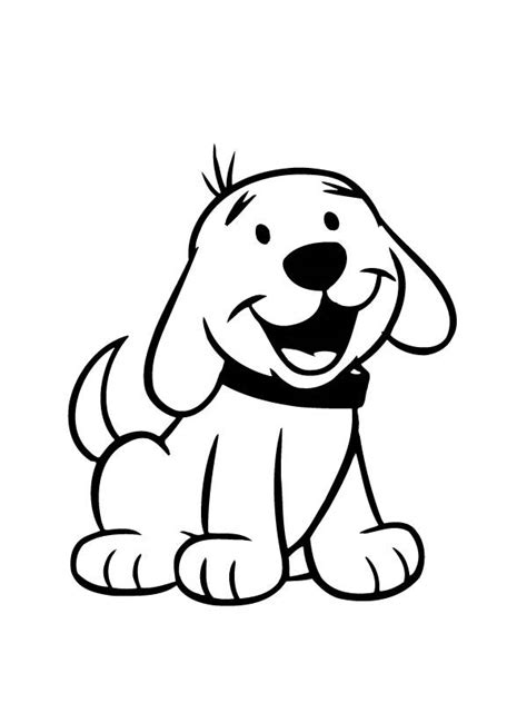 coloring pages big dogs clifford the big red dog coloring pages printabledog