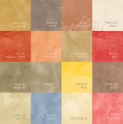 vella venetian plaster systems color chart