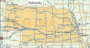 us map nebraska printable us state maps printable state maps