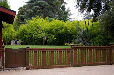 fence ideas front yard bungalow fences arts and crafts ideas