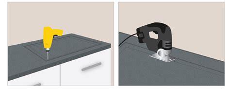 comment poser un plan de travail dans une cuisine pose d une plaque de cuisson sur un plan de travail ooreka