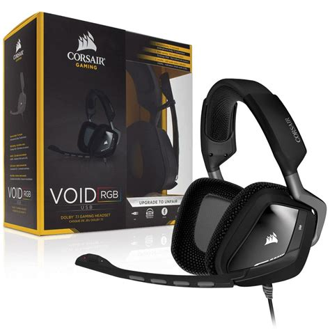 corsair void rgb usb dolby 7 1 gaming headset taipei for